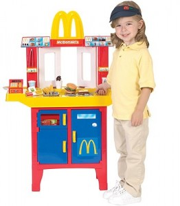 Mcdonald S Introduces A Toy Drive Thru Kitchen The Lunch