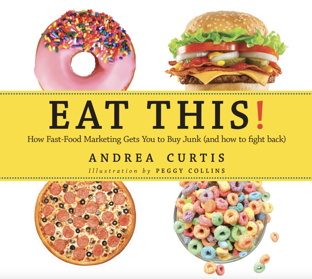 New Book Teaches Kids To See Through Junk Food Advertising ...